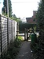 Footpath from King Edward's School approaching Brook Road - geograph.org.uk - 1545789.jpg
