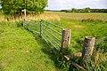 Footpath stile and gateway - geograph.org.uk - 821382.jpg