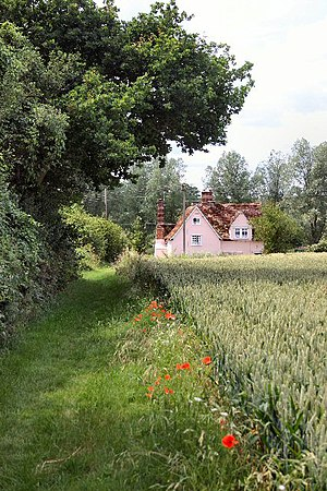 Boxted, Suffolk - Footpath to Boxted