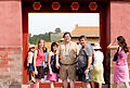 Forbidden City group photo in doorway.jpg