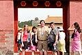 Forbidden City group photo in doorway.jpg