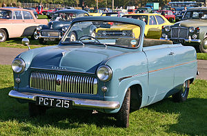 Ford Consul - Image: Ford Consul Mk I convertible front