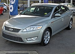 Ford Mondeo Mk IV przed liftingiem