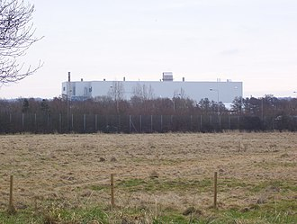 Ford Southampton plant - Image: Ford Motor Company Southampton Assembly Plant geograph.org.uk 1168893