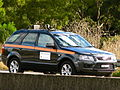 Ford Territory Mobile speed camera vehicle on the Princes Highway.jpg