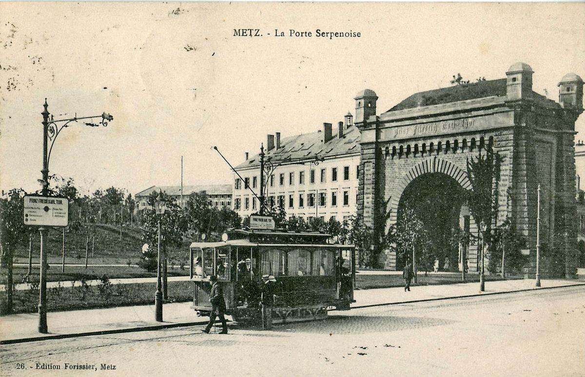 Tramway De Metz Wikip 233 Dia