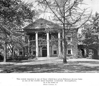 George V. Forman - Forman Residence on Delaware Avenue (when it was owned by Oliver Cabana, Jr.)