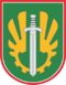 Former insignia of the Logistics Command (Lithuania).png