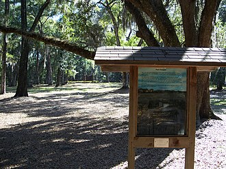 National Register of Historic Places listings in Citrus County, Florida - Image: Fort Cooper Inverness 02