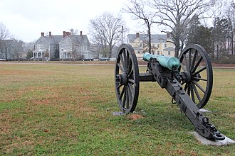 Fort Oglethorpe, Georgia - Fort Oglethorpe, GA, viewed from the Chickamauga and Chattanooga National Military Park