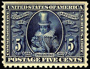 Pamiętnik handlowca - Pocahontas 1907 issue
