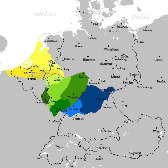 Fränkisches Sprachgebiet