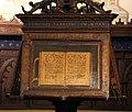 Fra raffaele da verona, badalone coro intarsiato di monte oliveto maggiore, 1520, 01.JPG