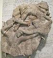 Frammento di un fregio con scena di battaglia, forse amazzonomachia, 350-300 ac. ca.JPG