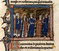 Français 2754, fol. 136v, Mariage de Gui de Lusignan et Sibylle de Jérusalem.jpeg