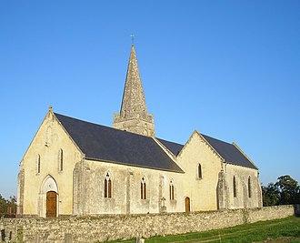 Campigny, Calvados - The church in Campigny
