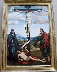 Calvary with St. Job at the Foot of the Cross