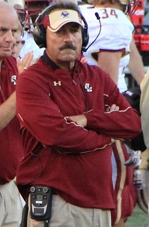 Boston College Eagles football - Coach Spaziani