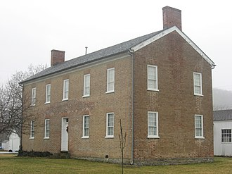 National Register of Historic Places listings in Franklin County, Indiana - Image: Franklin County Seminary