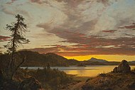 Frederic Edwin Church - Sunset 1856.jpg