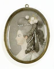 Frederika Sophia Wilhelmina (1751-1820), prinses van Pruisen. Echtgenote van prins Willem V