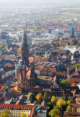 Freiburg im Breisgau - Freiburg Münster medieval cathedral