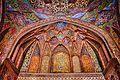 Fresco art of wzir khan mosque.JPG