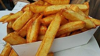 French fries Deep-fried strips of potato
