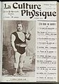 Front cover of 'La Culture Physique' featuring Louis Cyr Wellcome L0035238.jpg