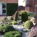 Front garden, Dickins Road, Warwick - geograph.org.uk - 1211886.jpg