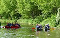Fun on the canal at Slade Heath, Staffordshire - geograph.org.uk - 1337159.jpg