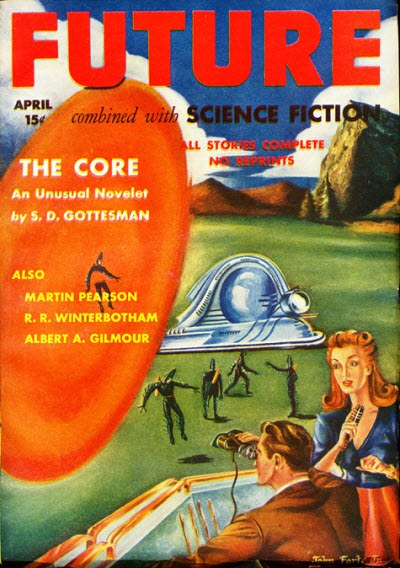 Future combined with Science Fiction April 1942