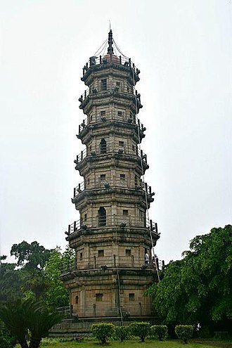 Mawei District - Luoxing Pagoda