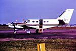 G-BJET Cessna 425 Corsair Gatwick Executive CVT 1982 (29619759896).jpg