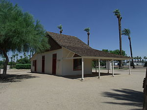 Sahuaro Ranch - Adobe house - the first house built in Sahuaro Ranch
