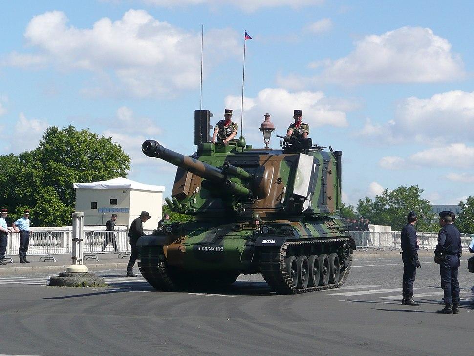 GCT 155mm July 2008