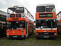 GM Buses bus 4508 (SND 508X) & 1466 (H466 GVM), 2011 Trans Lancs bus rally.jpg