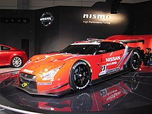 Nissan GT R GT500 Of Nismo For The 2008 Super GT Season