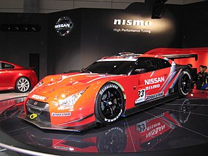2008 Super GT Series - 2008 Xanavi nismo GT-R (R35).