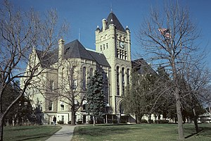 Gage County Courthouse in Beatrice, 2009