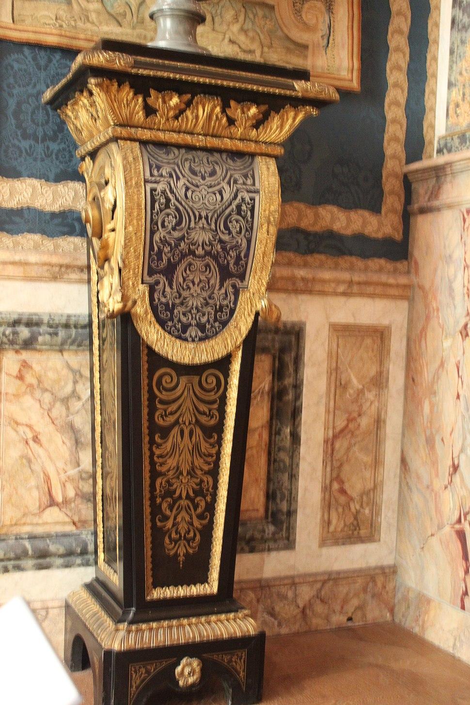 Gaine - Pedestal - vers 1700-1720 - Boulle - Louvre - OA 5058 ou 5061