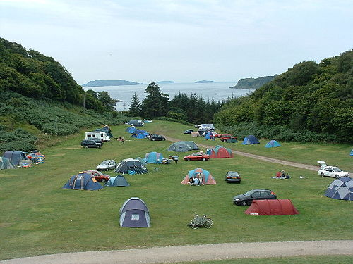 Undeveloped tent camping area Gallanach Campsite - geograph.org.uk - 36570.jpg