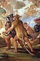 Galleria di luca giordano, 1682-85, ratto di proserpina 04 marte ed ercole 1.JPG