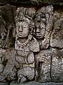Gandavyuha - Level 3 Balustrade, Borobudur - 056 South Wall (8602473166).jpg