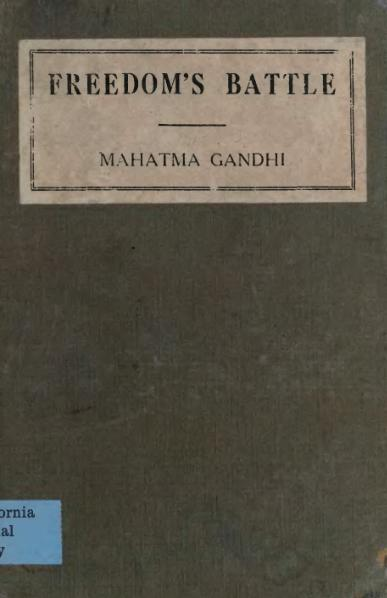 File:Gandhi - Freedom's battle.djvu