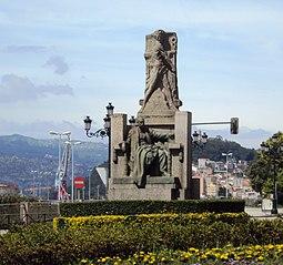 Monument to García Barbón