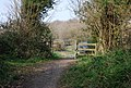 Gate at the end of the bridleway - geograph.org.uk - 1253045.jpg