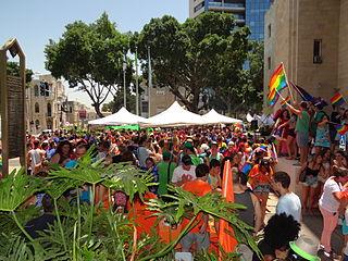Haifa Pride Annual LGBT event in Haifa, Israel