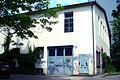 Gebäude 1108 Universität Hannover alte Schmiedehalle IFUM evtl. Torpedo-Versuchshalle Werner Osenberg Welfengarten Einfahrt.jpg