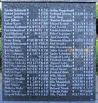 Gedenkstein An der Wuhlheide 131a (Oschw) Opfer des 1 Weltkrieges2